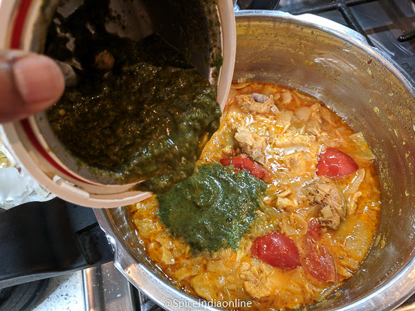 Andhra Green Chili Chicken Curry — Spiceindiaonline