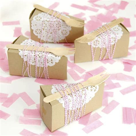 cake slice box by peach blossom   notonthehighstreet.com