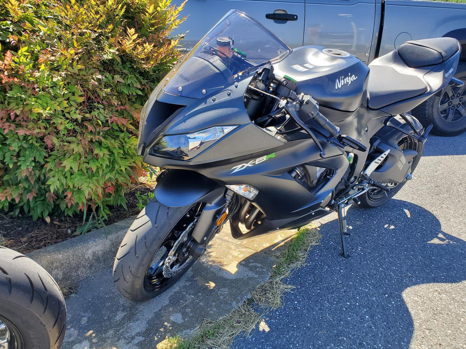 2015 Kawasaki Ninja Zx 6r 30th Ann