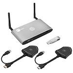 Siig CE-H26611-S1 Ac Dual View Wireless Media Presentation Kit White B