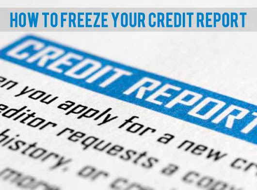 How To Freeze Your Credit Report - SIF.org