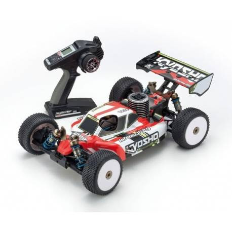 Kyosho Inferno MP9 TKI4 Readyset T1 scala 1/8 Buggy RC a scoppio (art. K.33014T1)