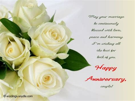 Happy Anniversary Messages Wishes and Wordings Wordings