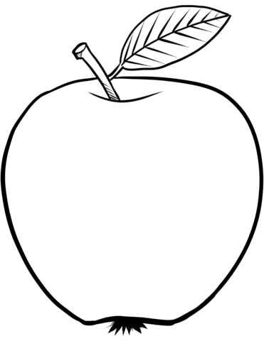 8400 Free Printable Coloring Pages Apple Images & Pictures In HD