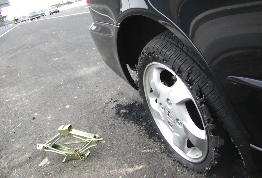 How To Handle A Tire Blowout Ts Articles