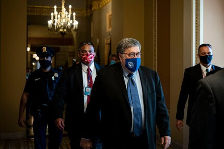 Barr Acknowledges Justice Dept. Has Found No Widespread Voter Fraud