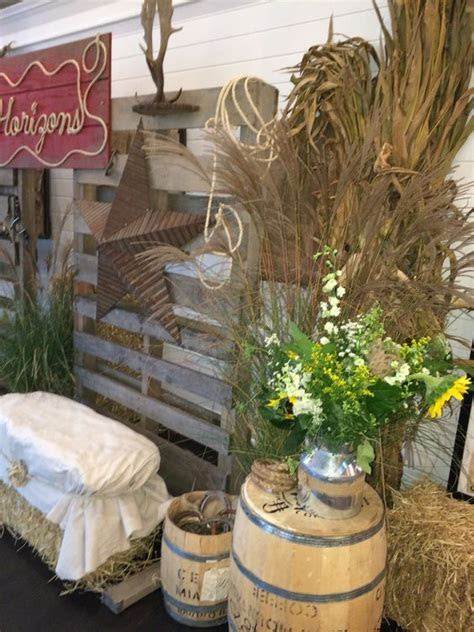 country western party; pallet backdrop, rope sign; draped