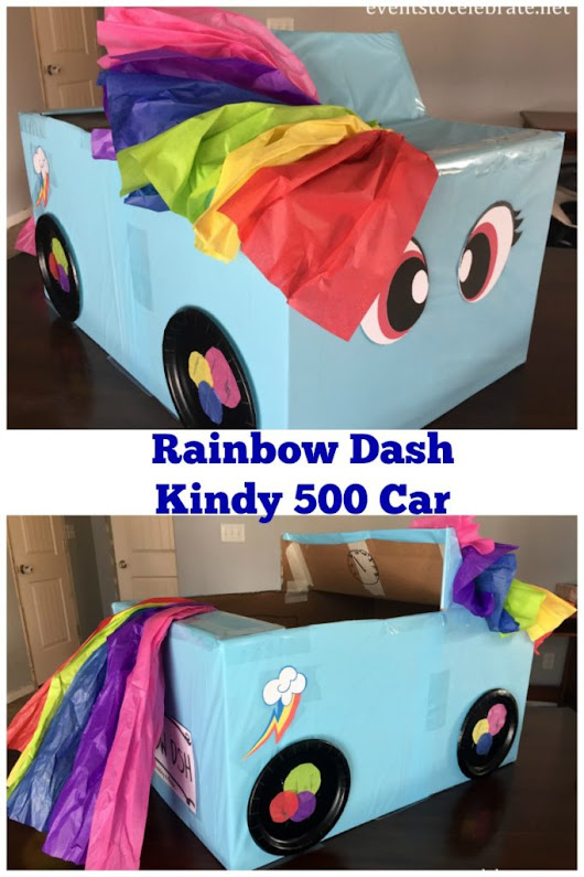 Kindy 500 Car Rainbow Dash - events to CELEBRATE!