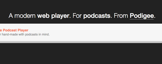 Podigee Podcast Player now available for testing - The Podigee Blog - podigee.com