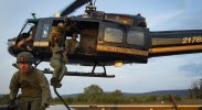 U.S. customs and border patrol helicopter
