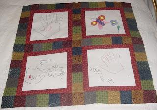 Kids Art Quilts- 2