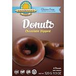 Gluten Free Chocolate Dipped Donuts by Kinnikinnick