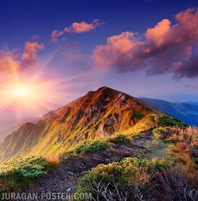 Gambar Pemandangan Alam Di Gunung