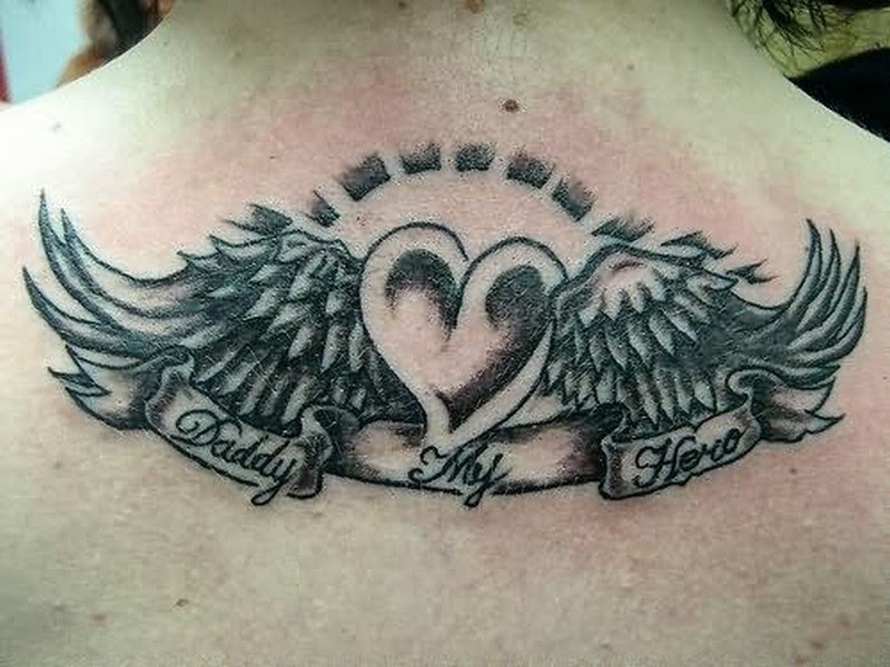 Amazing Heart Angel Wings Tattoo Tattoos Book 65000 Tattoos Designs
