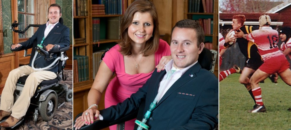 How rugby player who thought he'd never find a partner after being paralysed as a teenager