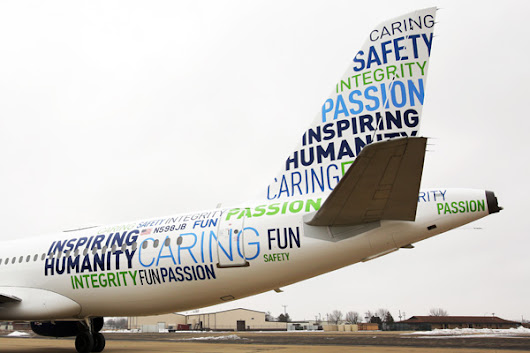 JetBlue Airways celebrates 15 years of flying with a new values logo jet