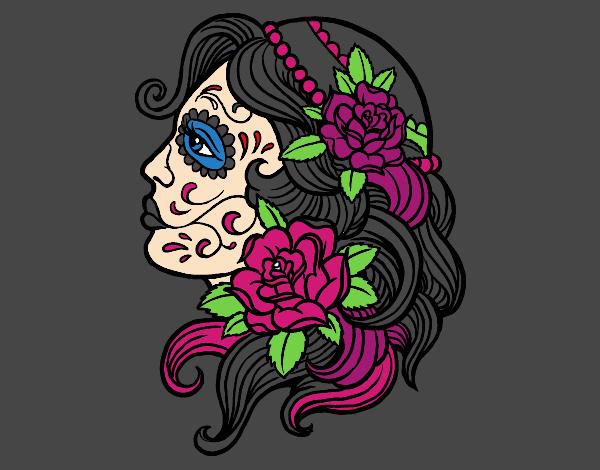 Dibujo De Tatuaje De Catrina Pintado Por Fraimar En Dibujosnet El