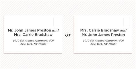 How to Address Wedding Invitations   Shutterfly