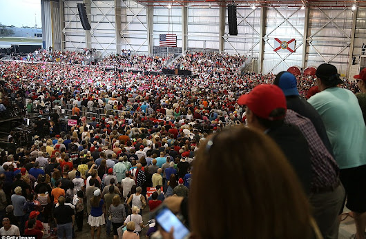 Tens of Thousands of Real Americans Show Support for Trump in Florida
