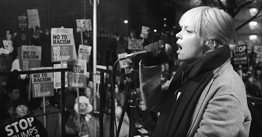 Watch Lily Allen's Chilling Rufus Wainwright Cover at Women's March