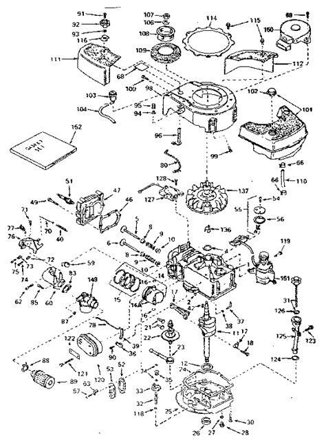 CRAFTSMAN CRAFTSMAN EAGER -1 4-CYCLE ENGINE Parts   Model