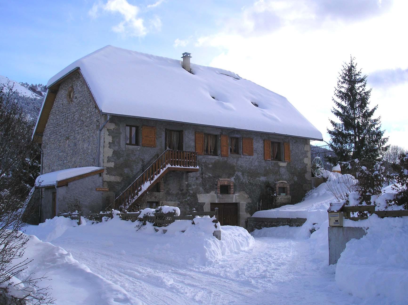 Gîte De Passières Chichilianne Vercors Trièves Sud Isère