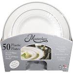Masterpiece Plastic Plates - 50 count
