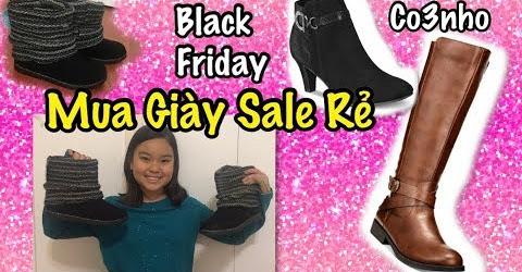 Mua Giày Sale Rẻ Black Friday - Cuộc Sống Ở Mỹ - Co3nho 294