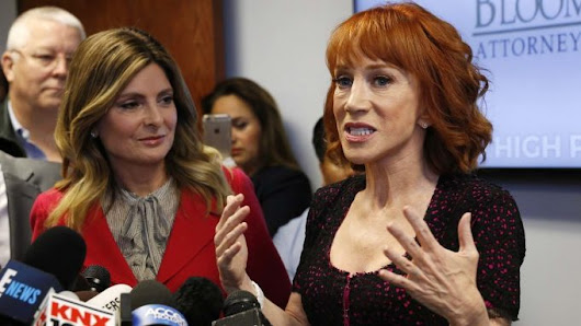 Kathy Griffin Bombs  - Hellerman Communications