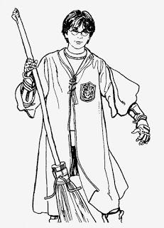 harry potter ausmalbilder ginny - coloring pages for kids