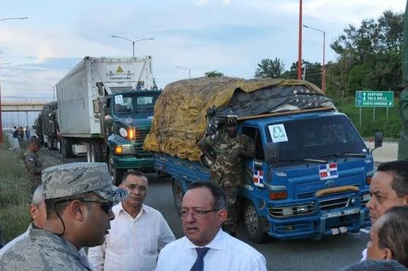 Convoy 500 vehículos dominicanos llega Haití hoy con diversas ayudas