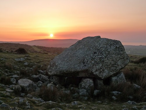 12242 - Sunset from Cefn Bryn, Gower