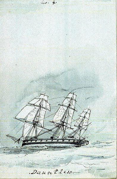File:HMS Dauntless (1847) in a following wind.jpg