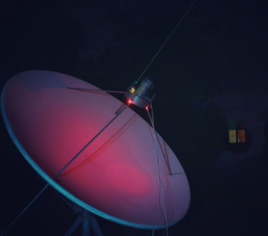 Dish antenna for the amateur radioastronomy - Oleg Kutkov personal blog