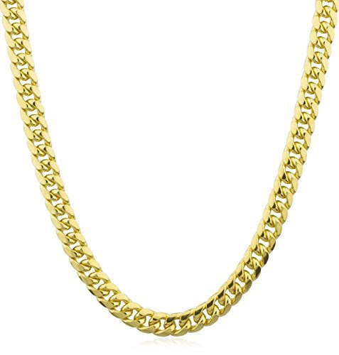 14K Yellow Gold Cuban Chain - Wonderful styles at UTC