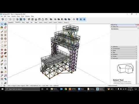 SAP2000 - Import Struktur dari Sketch Up