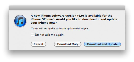 iOS Device Updates