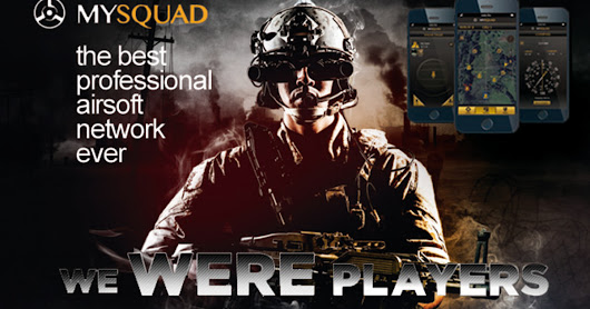 CLICK HERE to support MySquad Professional AirSoft Network & Mobile App
