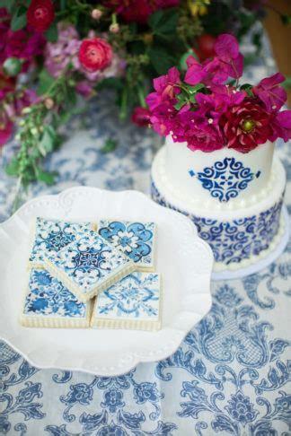 Vibrantly Beautiful Bougainvillea   Blue Spanish Wedding Ideas