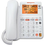 AT&T Corded Answering System with Backlit Display