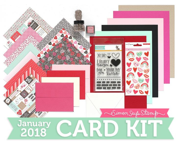 January Card Kit, Shari Carroll