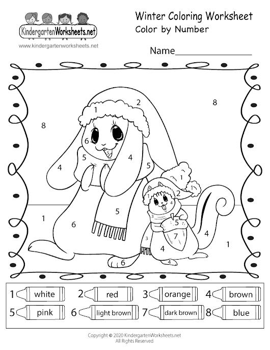 Free Worksheets » Kindergarten Holiday Worksheets - Free Printable ...