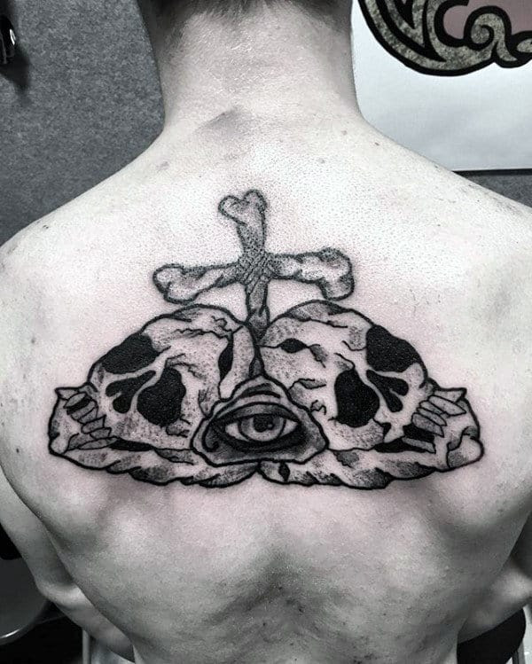 50 Traditional Skull Tattoo Designs For Men - Manly Ink Ideas