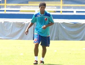 Ronaldinho Gaúcho no rachão do Flamengo (Foto: Richard Souza / GLOBOESPORTE.COM)