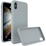 RhinoShield SolidSuit Protective Case - iPhone XS - Classic Cloud Gray