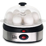 Elite Platinum Stainless Steel Automatic Egg Cooker EGC-207