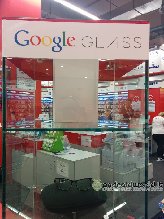 I Google Glass in vendita da MediaWorld in Italia per 2.000€