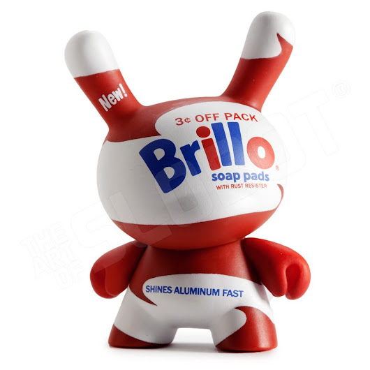 Andy Warhol vs. Kidrobot in the Artist's First Dunny Series! - Robot Art of Mike Slobot