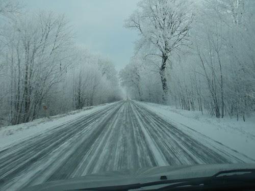 Polish winter on the road #4