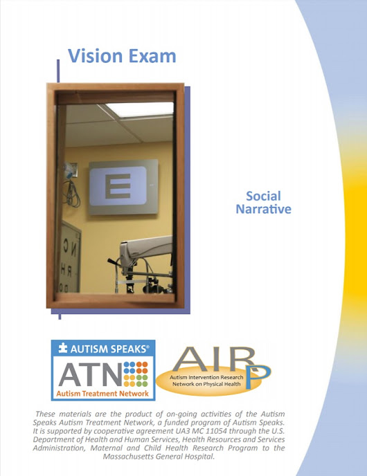 ATN/AIR-P Tools for Successful Vision Exams | Autism Speaks